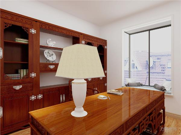 设计风格为中式欧式,中式家具讲究的讲究的就是方正,对称。