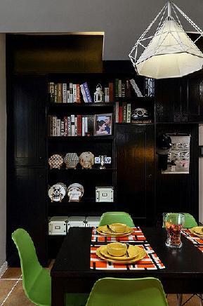 餐厅图片来自家装大管家在82平混搭宁静空间 大家都说惊艳的分享