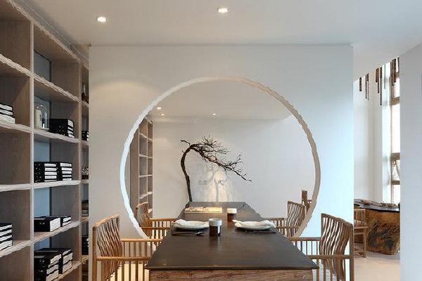 书房中式设计效果图