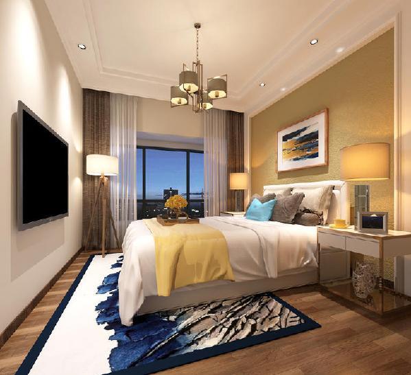 未来方舟现代简约风格装修卧室