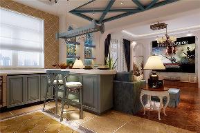 龙发装饰 碧领园 现代中式 地中海 别墅设计 别墅 厨房图片来自龙发装饰天津公司在碧领园500平米现代中式+地中海的分享