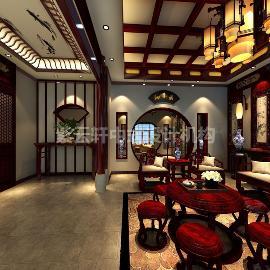 北京金科王府古典中式装修实例
