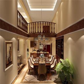 欧式 别墅 小资 高帅富 白富美 餐厅图片来自高度国际姚吉智在420平米欧式独栋别墅极致的奢华的分享