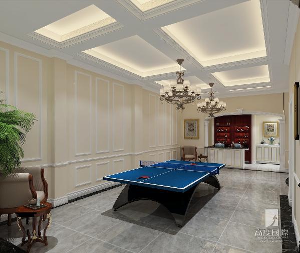 乒乓室设计