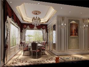 法式 别墅 高帅富 白富美 小资 餐厅图片来自高度国际姚吉智在550平米法式独栋别墅百年不过时的分享