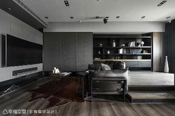 雅痞的呢喃 83平饭店风设计