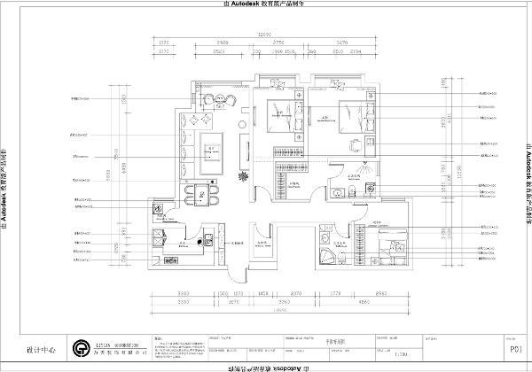 虽然该户型面不小并有三间卧室,但是该户型的格局并不规整,原始空间的厨房有一个空间对于厨房来说用处并不是很大,空间容易被浪费掉。主卧带有衣帽间和卫生间
