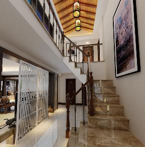 中式 成都装修 中式风格 成都装修公 跃层装修 复式装修 楼梯图片来自四川百合居装饰集团在中式风格的分享