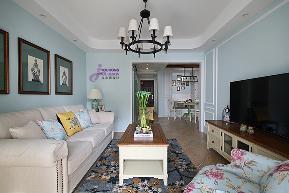 小资 90后 简美 美式 小清新 客厅图片来自无锡吉友洪设计工作室在梦想家的分享