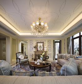 豪华5室2厅别墅住宅法式风格