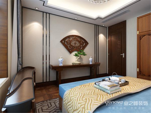 晋阳湖壹号185平米新中式风格书房装修效果图----太原业之峰