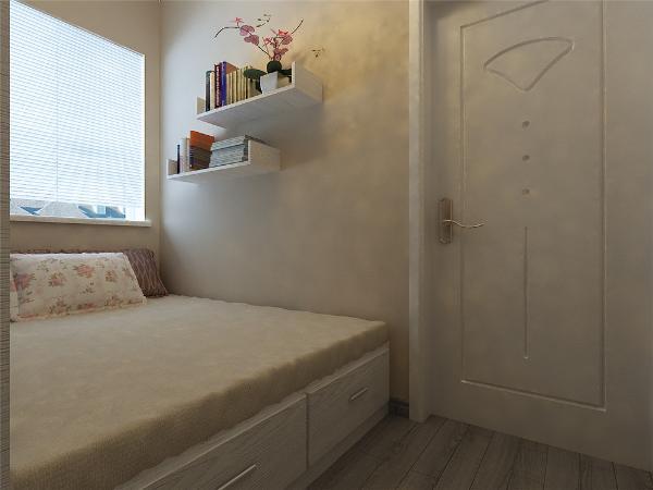 卧室干净整齐没有什么特殊设置,单纯温馨