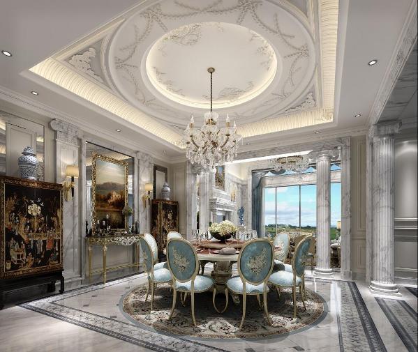 别墅装修法式风格设计方案展示