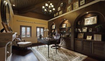 别墅装修美式风格设计完工实景