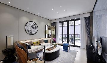 清雅含蓄 103平现代中式3居室