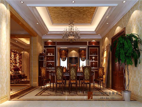 用开放式餐厅与客厅连贯处理,并用厨具延伸出极富趣味且实用的弹性空间,不但放大餐厅空间,更加强了厨房与餐厅、餐厅与客厅的互动感!
