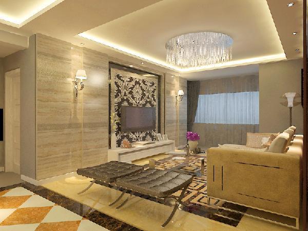 保利达翠堤湾120平现代风格