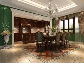 美式 别墅 高帅富 未来家 白富美 餐厅图片来自高度国际姚吉智在892平米美式独栋别墅至尊新贵的分享