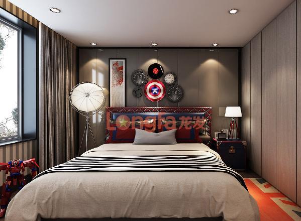 海珀香庭240平米 简约风格 卧室 儿童房