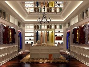 美式 别墅 高帅富 未来家 白富美 衣帽间图片来自高度国际姚吉智在892平米美式独栋别墅至尊新贵的分享