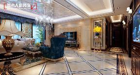 欧式 小资 装修 奢华 舒适 客厅图片来自太原城市人家原卯午在奢华|湖滨晋庭220平米欧式设计的分享
