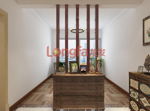 亮丽家园150平米 门厅 美式乡村风格装修效果图