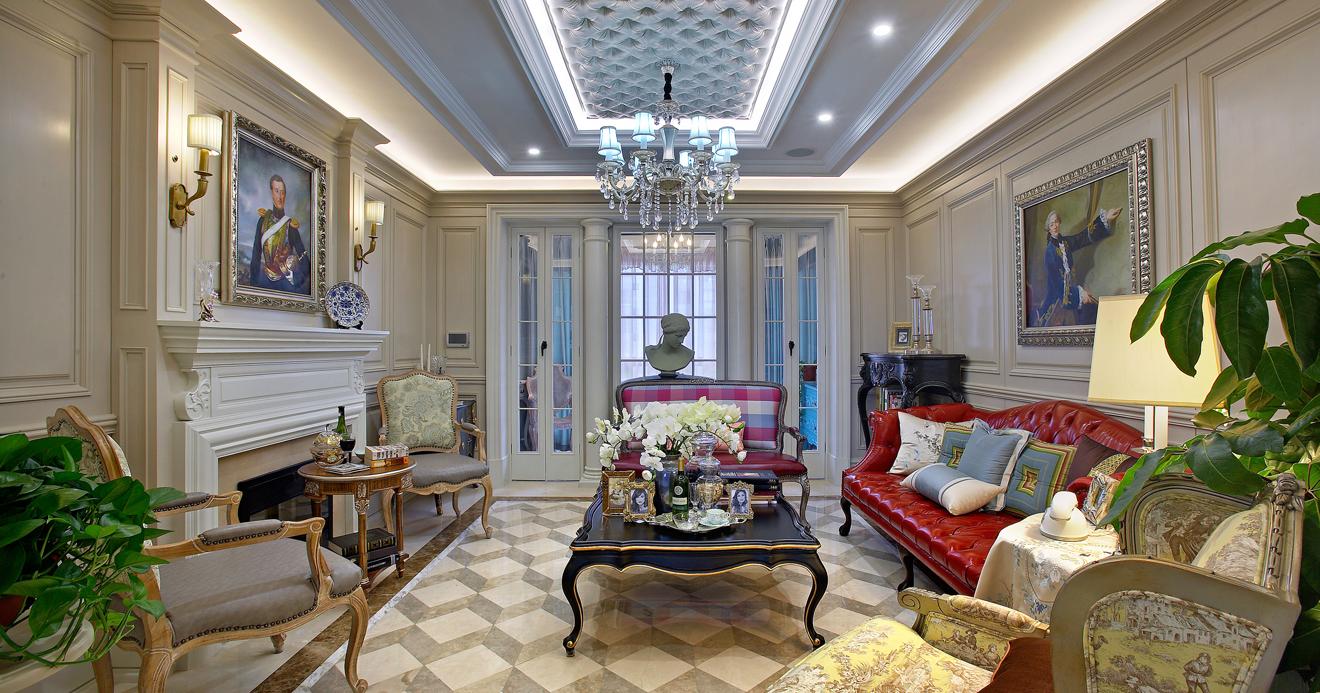 简约 欧式 田园 混搭 别墅 白领 收纳 旧房改造 古典风格 客厅图片来自元洲装饰木子在丰泽园欧式风格设计的分享