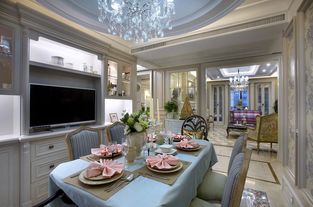 简约 欧式 田园 混搭 别墅 白领 收纳 旧房改造 古典风格 餐厅图片来自元洲装饰木子在丰泽园欧式风格设计的分享