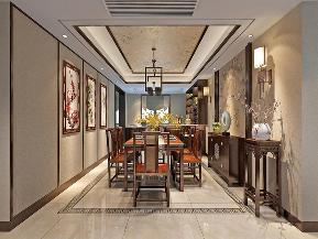 餐厅图片来自日升装饰秋红在西安开元壹号的分享