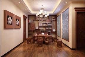 餐厅图片来自峰光无限装饰小陈在白桦林间复式195㎡中式古典的分享