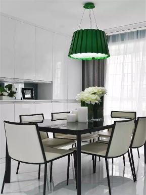 现代 三居 白领 收纳 小资 餐厅图片来自高度国际姚吉智在130平米现代休闲时尚活力三居室的分享