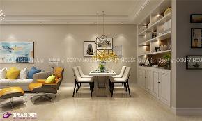 简约 名辉豪庭 装修 效果图 餐厅图片来自济南城市人家装修公司-在名辉豪庭装修效果图现代风格的分享