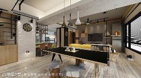 三居 工业 餐厅图片来自幸福空间在大自然的无拘感 89平暖心工业宅的分享