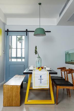 餐厅图片来自家装大管家在夏日清凉 128平北欧时尚雅致3居的分享