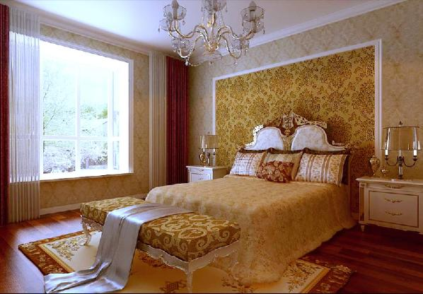 本案户型的设计亮点就在于:富于层次及变幻的色调、凸显高贵、奢华的空间设计装饰及精巧的壁炉的巧妙运用无一不显示主人对高品位生活的追求。