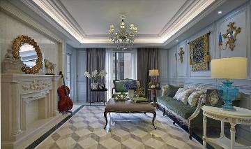 华馨公寓158平欧式装修作品