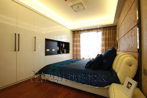 欧式 温馨 高品质 白领 80后 简欧 卧室图片来自鸿扬家装武汉分公司在世茂锦绣长江之北欧之光的分享