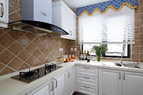 欧式 田园 设计 施工 效果图 地中海 厨房图片来自紫禁尚品国际装饰公司在地中海别墅装修设计的分享