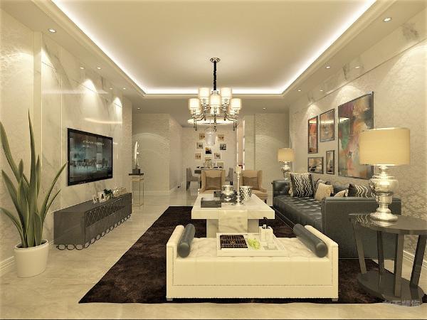 减少堆放物,简单大气的视觉感受来自室内杂物合理的收纳,在装修中选择打尽可能多的壁柜等收纳部分,帮助室内减少杂物堆放,以免又杂物引起整体室内的视觉混乱。