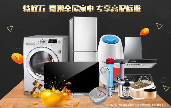 清一色老品牌家电,高配标准的家才是你的风格!