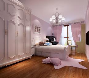 美式 三居 装修 高富帅 旧房改造 收纳 80后 小资 卧室图片来自重庆高度国际装饰工程有限公司在百旺家园的分享