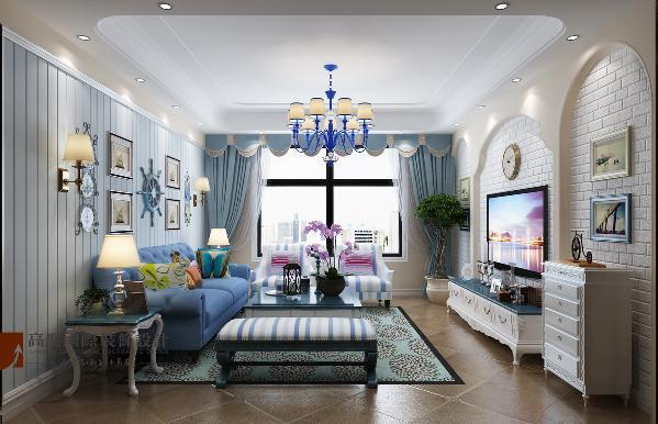 在设计上非常注重一些装饰细节上的处理,比如中间镂空的玄关,造型特别的灯饰、椅子等。