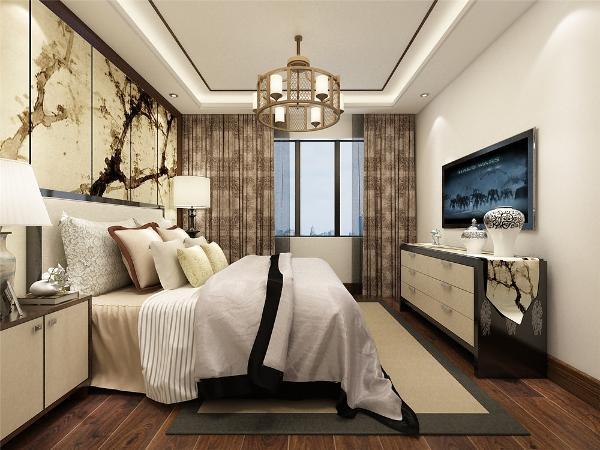 主卧室位于户型的左下角,空间较大,采光较好。主卧室上面是卫生间,有窗户,采光良好。在往上是次卧室,也有窗户,采光条件也良好,本来和主卧室处于一边适合做一个书房,但是需要两室,所以做成次卧室。
