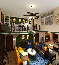 430平排屋别墅筑造托斯卡纳风格