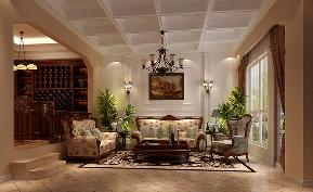 托斯卡纳 别墅 收纳 高富帅 白富美 客厅图片来自重庆高度国际装饰工程有限公司在天竺新新家园-托斯卡纳的分享