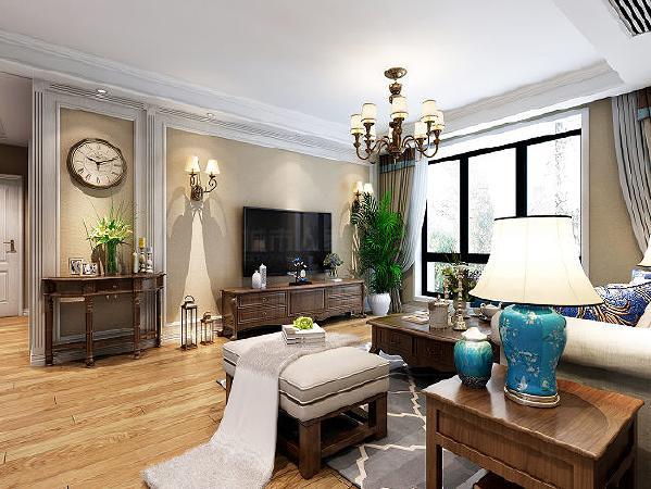 舒朗简约的空间在回环往复的线条中透露着闲适的淡然,轻快明亮的色彩点缀出装饰的整体和舒适。