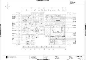 港式 白富美 高富帅 别墅 高度国际 户型图图片来自重庆高度国际装饰工程有限公司在西山壹号院-港式风格的分享
