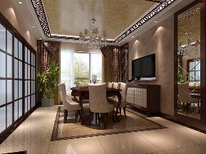 港式 白富美 高富帅 别墅 高度国际 餐厅图片来自重庆高度国际装饰工程有限公司在西山壹号院-港式风格的分享