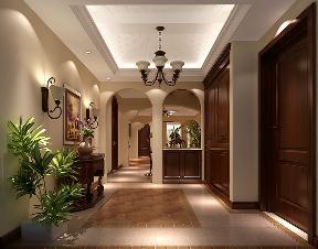 托斯卡纳 别墅 小资 白富美 高度国际 玄关图片来自重庆高度国际装饰工程有限公司在蔚蓝香醍-托斯卡纳的分享