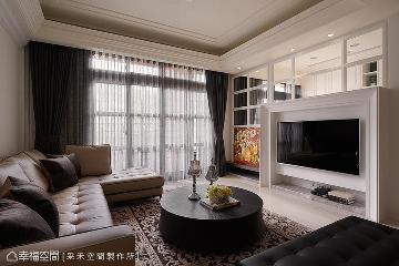 类古典混搭 116平优雅美式宅